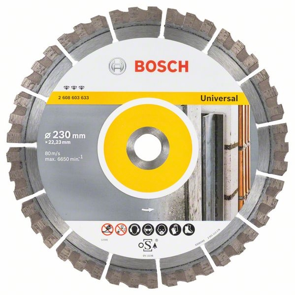 <div>DISCO DIAMANTE 230 BOSCH BEST UNIVERSAL</div>
