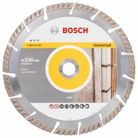 <div>DISCO DIAMANTE 230 BOSCH GENERAL HIGH SPEED</div>