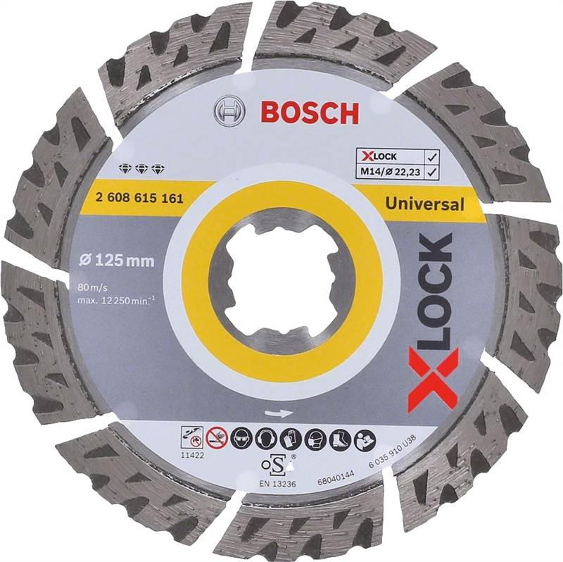 <div>DISCO DIAMANTE 125 BOSCH X-LOCK BEST UNIVERSAL</div>