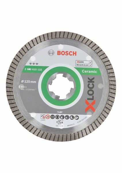 <div>DISCO DIAMANTE 115 BOSCH X-LOCK PORCELANICO TURBO</div>