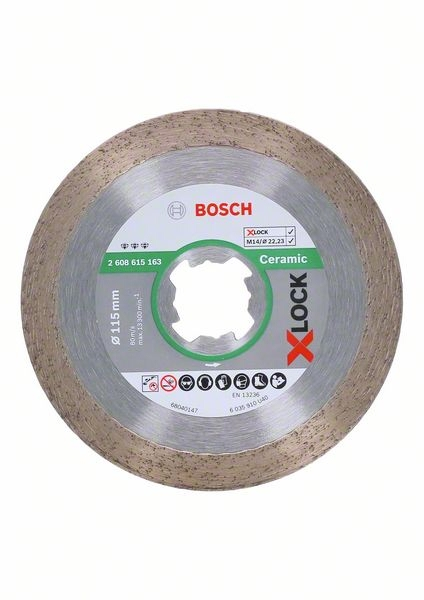 <div>DISCO DIAMANTE 115 BOSCH X-LOCK PORCELANICO</div>