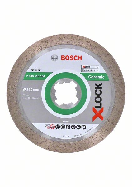 <div>DISCO DIAMANTE 125 BOSCH X-LOCK PORCELANICO</div>