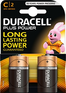 <div>PILA ALCALINA DURACELL LR14 PLUS POWER</div>