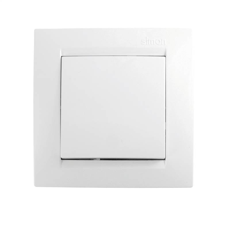 <div>CONMUTADOR SIMPLE SIMON-15 BLANCO F1590201030</div>