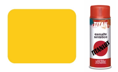 <div>SPRAY PINTURA TITAN AMARILLO REAL 529</div>