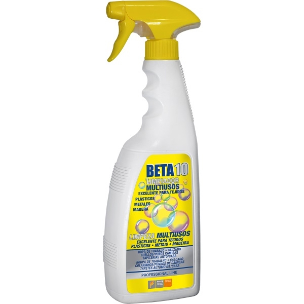 <div>QUITAMANCHAS TEJIDOS BETA 10 750ML PISTOLA</div>